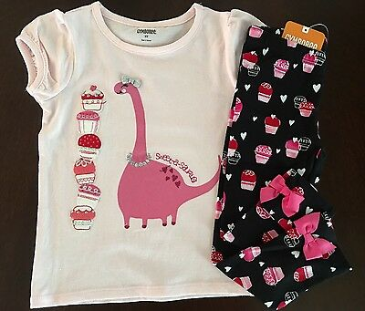 Gymboree Girls Tee /& Snowflake Cozy Leggings Outfit NWT 2T 3T 4T $47.90