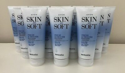New Avon Skin So Soft Fresh & Smooth Silky Stay SHAVE GEL 6.7 oz. *Qty 12*