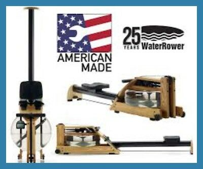 WATERROWER A1  Water Rower - Latest 2018 Model - FREE AB BENCH (Valued at $299)