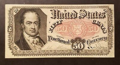USA/United States 50-cent Series 1875 A-UNC SecTreas, Crawford