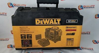 New DeWalt DW089LR 12V MAX Compatible Red 3 x 360 Degrees Red Line Laser
