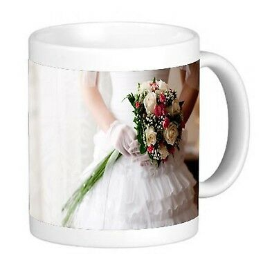 Bridal 11 ounce Ceramic Coffee Mug Tea Cup