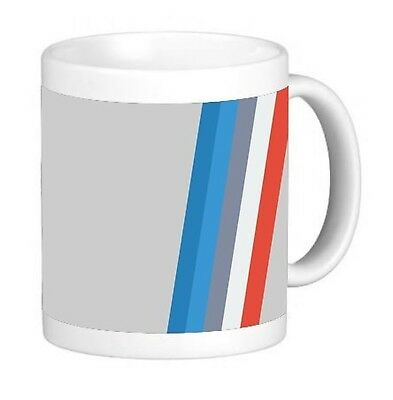 Racing Stripes 11 ounce Ceramic Coffee Mug Tea Cup
