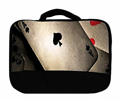 Ace of Spades Cards Canvas Lunch Bag