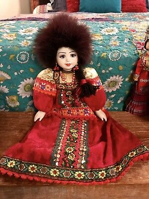 Lot Of Global Doll Collection/Rare/Vintage/Geisha/Chinese/Russian/Thailand/Asian