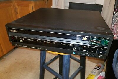 Pioneer CLD-909 LaserDisc LaserVision Compact Disc Player Non Working for Repair