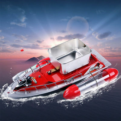 Mini Wireless RC Fishing Lure Bait Boat 200M Remote Control for Finding Fish/