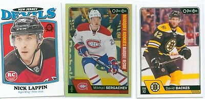 15a44c54f0a PICK YOUR CARDS / Lot 2018-19 O-Pee-Chee OPC Silver Border NHL ...