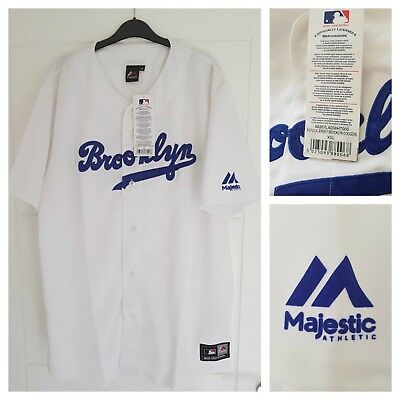 MAJESTIC BROOKLYN DODGERS MLB Official Baseball Jersey Authentic Men's XXL