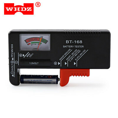 WHDZ BT168 0.1mA Universal Battery Checker Tester Built-in microprocessor