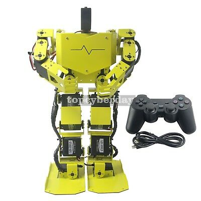 17DOF Biped Robotics Human Robot Full Kit +17pc Servo +Controller Robo-Soul H3.0