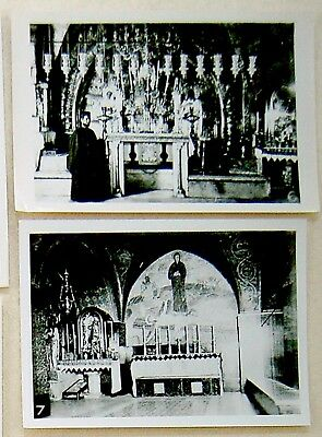 c1930-40 Palestine 10 PHOTOS Israel JERUSALEM Church of the HOLY SEPULCHRE