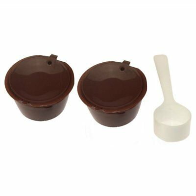 10X(Refillable Coffee Capsules For Nescafe Dolce Gusto Reusable Cup Filter P1R1