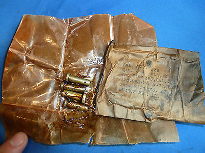 US  M63 Mount Pin Short  M2HB  Cal .50 Set off 4 No wrapper anymore