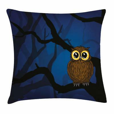 Night Throw Pillow Cases Cushion Covers Ambesonne Home Decor 8 Sizes