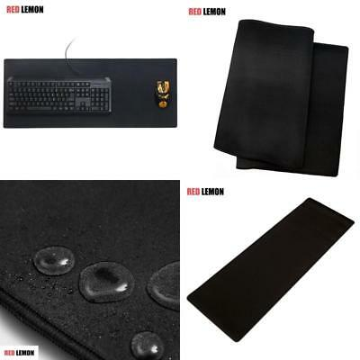 Extra Large Gaming Mouse Pad Xl Extended Thick Keyboard Desk Mat Non-Slip Rubber
