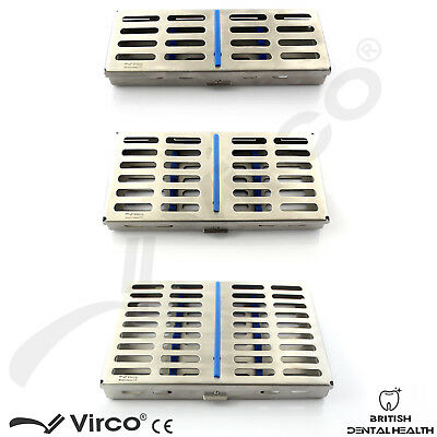Stainless Tray Cassette for 5, 7, 10 Instruments Surgical Dental Implant Rack CE