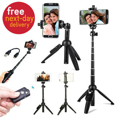 Selfie Stick Extendable Remote Bluetooth Tripod Iphone Shutter X 8 Plus Monopod