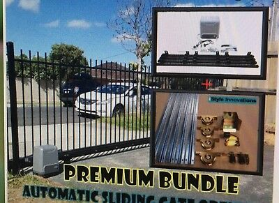 Automatic Solar Power Gate Opener Package