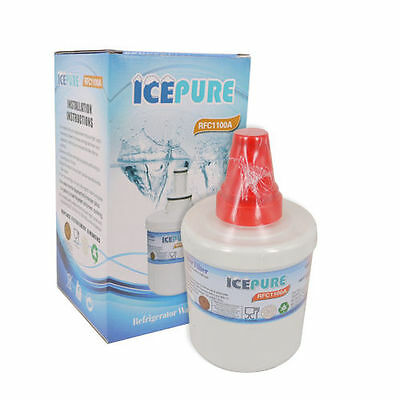 Icepure RFC1100A Refrigerator Water Filter Compatible With Samsung DA29-00003G