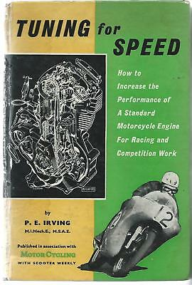 Tuning For Speed. Irving. 1963. Temple Press. Isle Of Man Tt Races.
