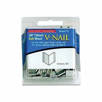 Logan F15 : 10mm V Nails Soft Wood : Pack of 200 - for F300 Joiners Framing