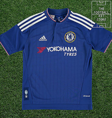 Chelsea Home Shirt - Official Adidas 2015/16 Boys Jersey -  All Sizes