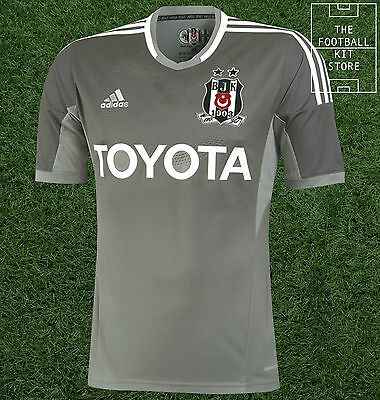 Besiktas Third Shirt - Official adidas Turkey Football Shirt - Mens - All Sizes