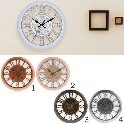 28cm 10-inch Silent Sweep Round Wall Clock, for Living Room Kitchen Office PICK