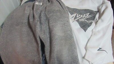 Vintage kid's ZUBAZ Pants and Sweatshirt Set-size M (5/6)