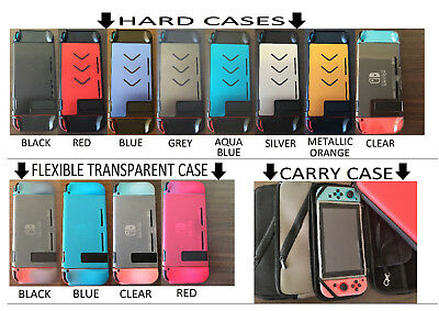 For Nintendo Switch Quality Protective Protector Hard Carry Case Cover Shell