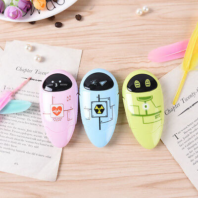 Cute Robot Correction Tape Material Escolar Kawaii Stationery School Supplies WR