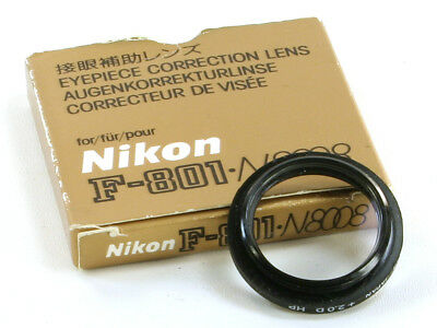 Nikon Eyepiece Auxiliary Lens +2.0 for F100 F90X F90 F-801 F-801S New Japan (JP)