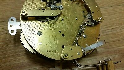 Ting-Tang   FHS  MANTEL CLOCK MOVEMENT . 130-020 WORKING