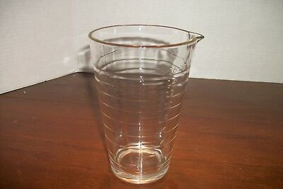 Vintage Baby All Glass Graduated Measuring Cup/Glass 16 oz - Used