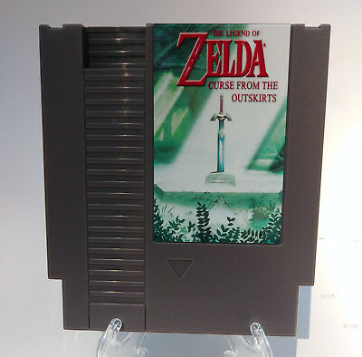 The Legend of Zelda: Curse From the Outskirts NES Nintendo Hack Repro Tested!