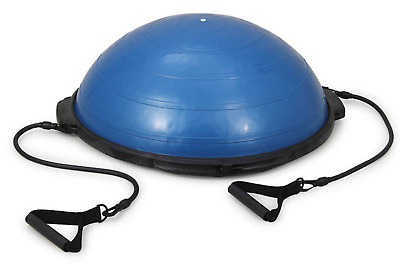 Budget BOSU with Tubing Handles | Balance Exercise, Pilates, Core, Yoga