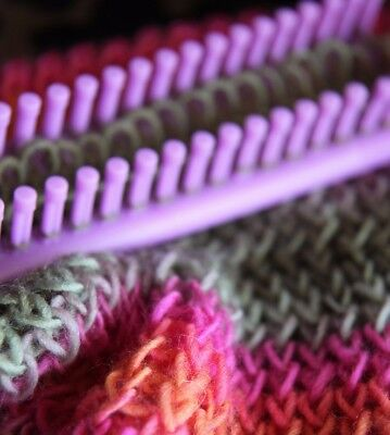 Craftersvchoice - One Long Knitting Loom & Needle Set