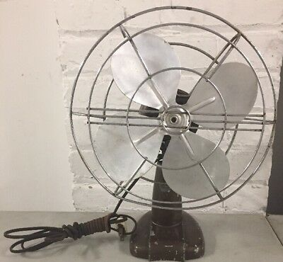 Vtg Century Product Works Inc Electric Fan Oscillating - Tested Works