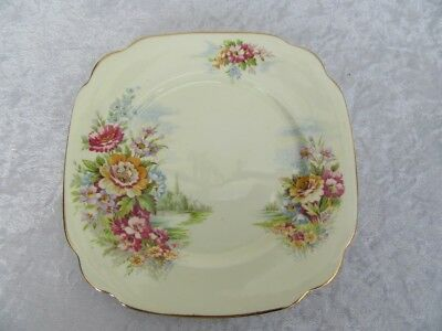 Vintage - Windsor Bone China - Sandwich Plate - Made in England