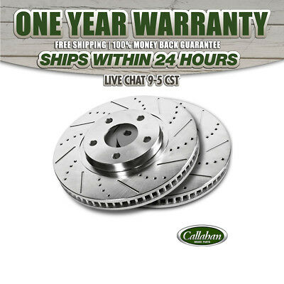 Front Rotors and Ceramic Pads For ROADMASTER FLEETWOOD CHEVY CAPRICE CUSTOM