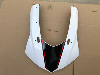 Yamaha YZF R1 R1S 2015 2017 Front Upper Cowling Fairing White OEM