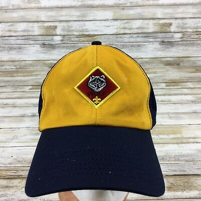 Bsa Cub Scouts -  Boys Wolf Twill M/l Uniform Cap/hat