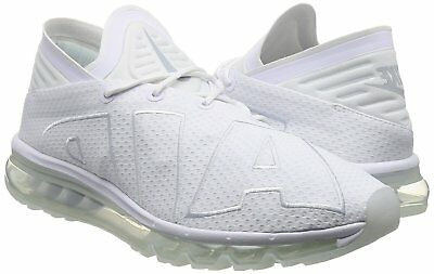 super popular dd764 f9cbd NIKE AIR MAX FLAIR Mens Running Shoes sz 8 White Pure Platinum 942236-100  Run