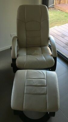Massage Chair With Ottoman