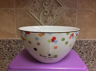 Kate Spade New York Market Street Collection Soup/Cereal Bowl, Indiviually Sold