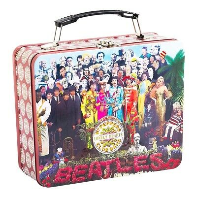 The Beatles Sgt. Peppers Record Album Vintage Style Metal Lunch Box