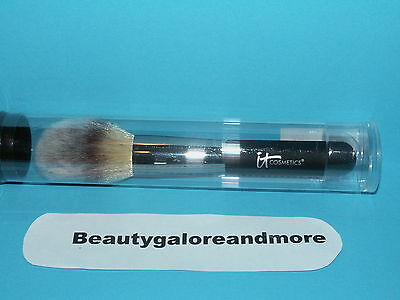 It Cosmetics Heavenly Luxe Wand Ball Powder Brush Black Handle Sealed New