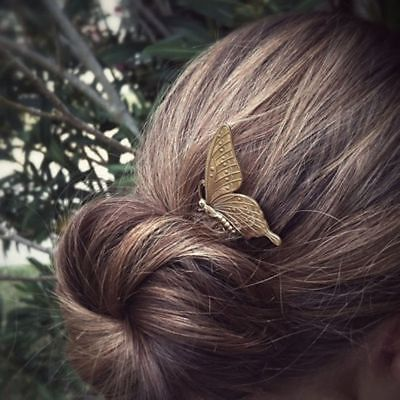 Gadgets Plate Alloy Comb Headwear 1PC Butterfly Hair Jewelry for CPDB12B17