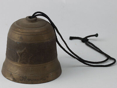 Vintage Bell/ Copper/ Japanese Antique/ Tone/ Comfortable/ religious